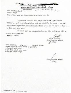 किसान पाठशाला (kisan pathshala ) द मिलियन फार्मर्स स्कूल के आयोजन के सम्बन्ध में जारी शासनादेश