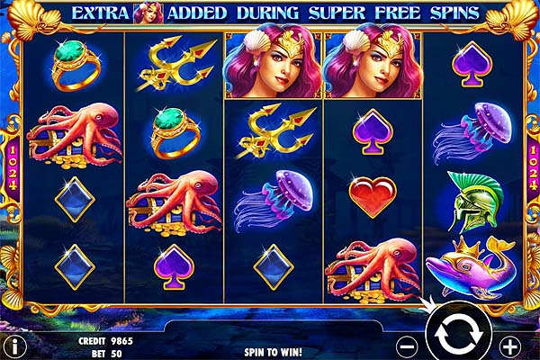 Main Gratis Slot Indonesia - Queen of Atlantis (Pragmatic Play)