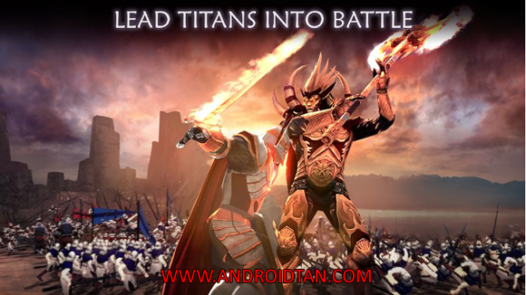 Free Download Dawn Of Titans Mod Apk + Data v1.14.3 (Free Shopping) Android Latest Version Terbaru 2017