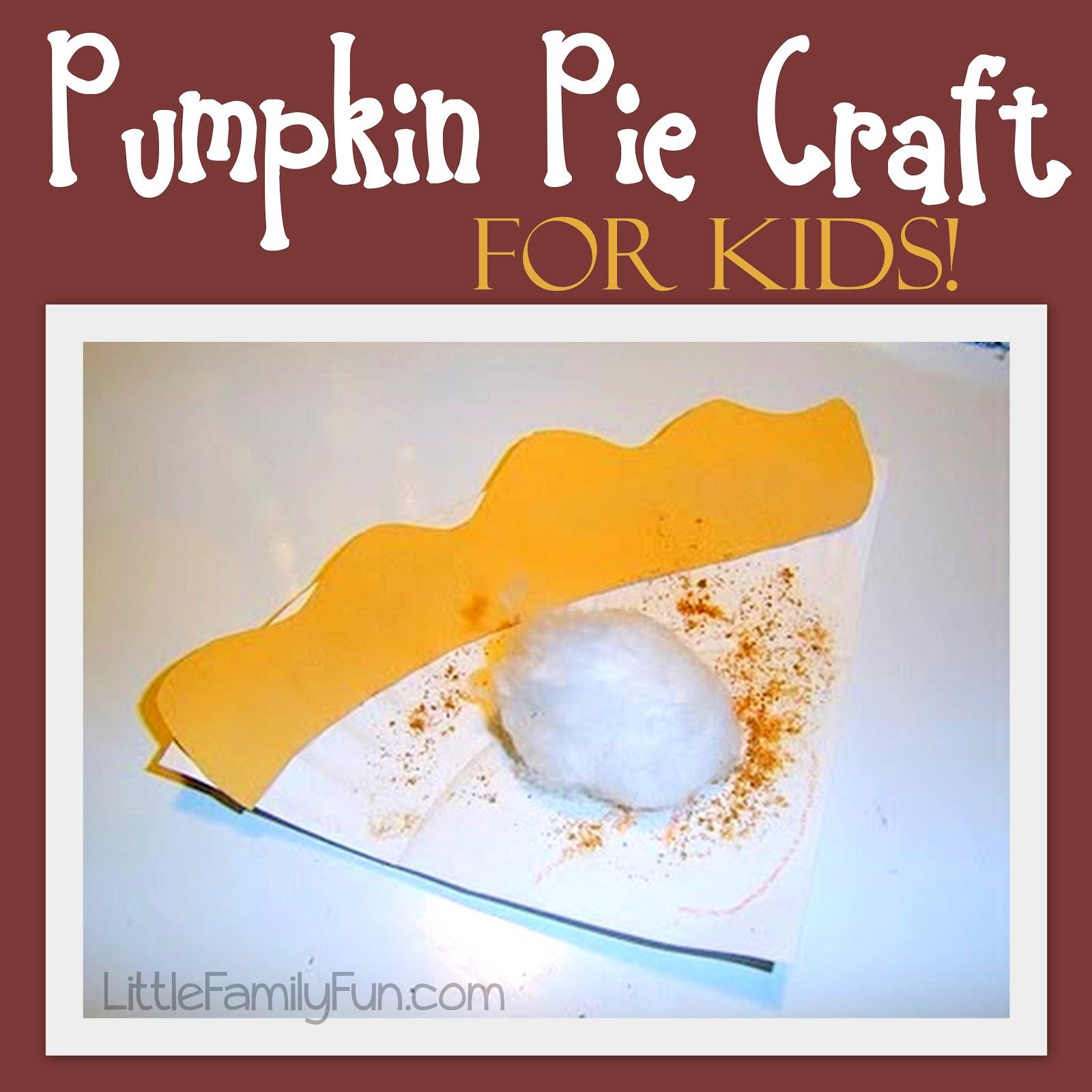 sc 1 st  Little Family Fun & Paper Plate Pumpkin Pie