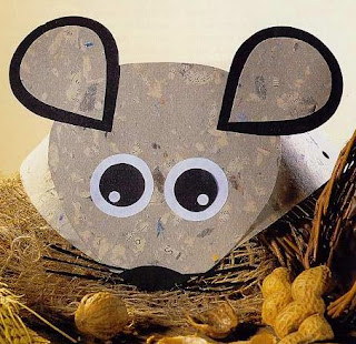 Visera o corona de Ratón con moldes para descargar