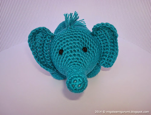 the geeky knitter: fo: olivier the elephant | 380x500