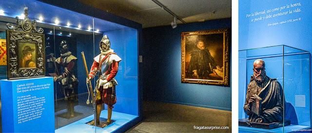 Exposição sobre Miguel de Cervantes no Alcázar de Toledo