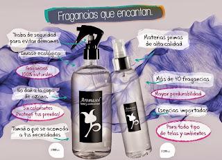 Perfume para la ropa de lavanda