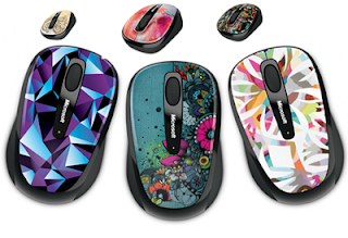Microsoft's latest artistic series mice