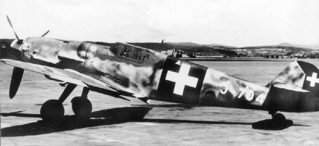 Swiss Bf 109  in World War II worldwartwo.filminspector.com