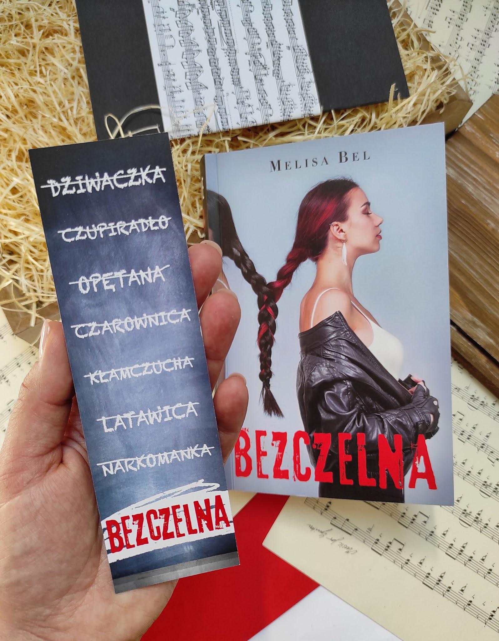 """""""Bezczelna"""" Melisa Bel"""