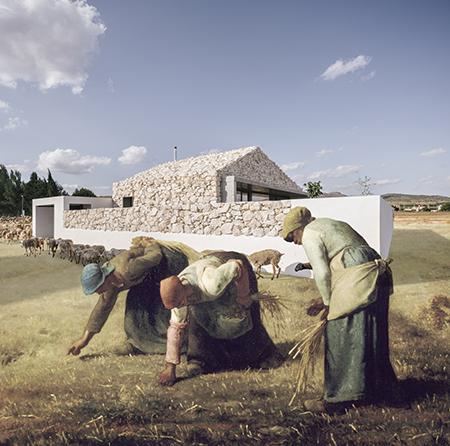 Casa Calixto + Las Espigadoras. Por Carlos Gor