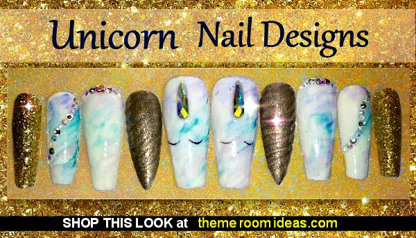 Unicorn Dreams Unicorn nails Unicorn nails unicorn horn Press on Nails