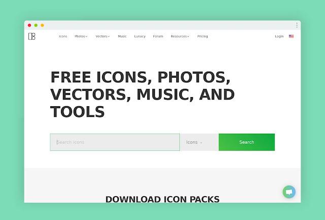 icons8 أفضل المواقع لتحميل أيقونات المجانية و المدفوعة https://icons8.com
