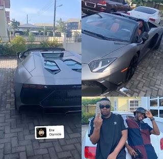 Rapper Olamide Acquires New Lamborghini Aventardor Worth #218million(Photos)