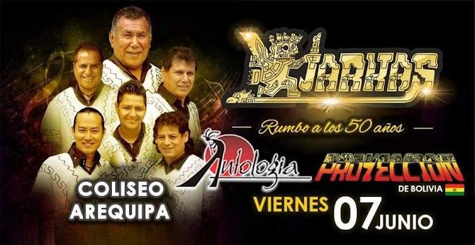 Los Kjarkas, Antología y Proyección en Arequipa - Precio de entradas - 07 de junio