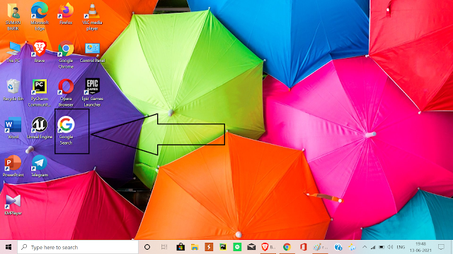 How to create shortcut of any website on your desktop screen?