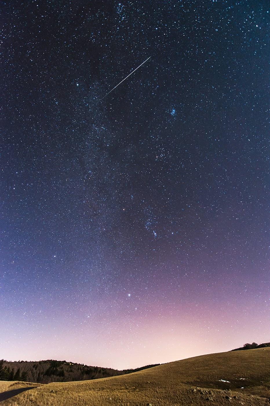 découvrir le ciel étoilé