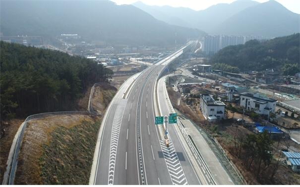 국도33호선 구포-덕산 구간 국도대체우회도로 17일 오후 3시 개통