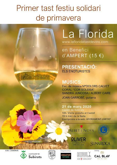 La Florida. Tast de vins festiu contra el càncer