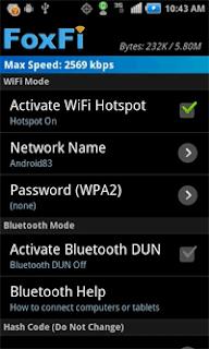 افضل 10 تطبيقات Hotspot توزيع الوايفي  للاندرويد بدون روت