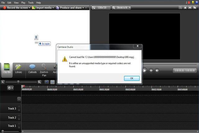 حل مشكلة عدم قبول الفيديو في كامتازيا وظهور رسالة الخطأ