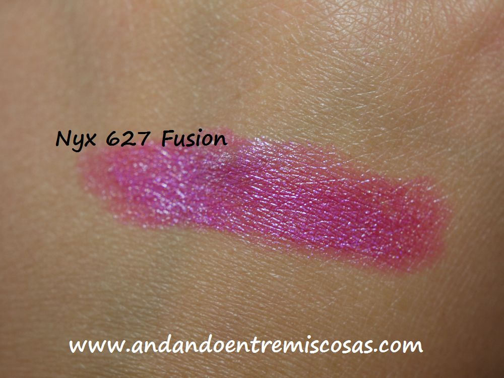 Labial, Nyx, 627 Fusion Swatch