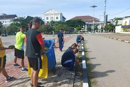 Arnold Ritauw Minta Prajurit dan PNS Korem Binaiya Lakukan Olahraga Jadi Runitinas