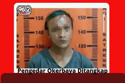 Pengedar Okerbaya Asal Patrang Ditangkap saat Ngamen di Kampus
