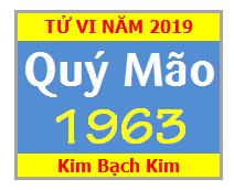 Tử Vi Tuổi Quý Mão 1963 Năm 2019 Nam Mạng - Nữ Mạng