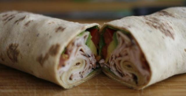 No Bread Turkey Club #lowcarb #lunch