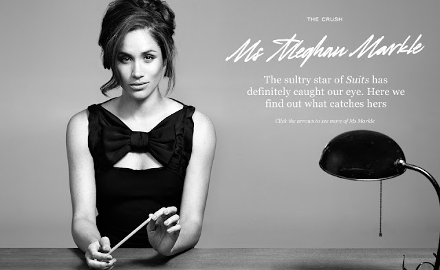 Meghan Markle sultry look