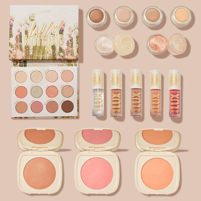 Colourpop  Kolekcja Wild Nothing