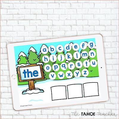 digital-winter-sight-word-centers