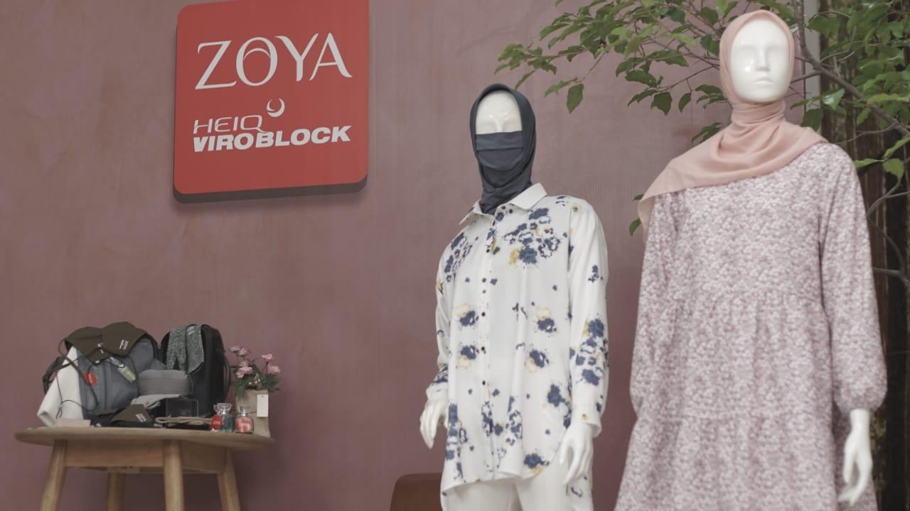 Intip Deretan Koleksi Zoya Viroblock Series Di tengah pandemi COVID-19 ! Tetap Modis dan Aman dari Virus