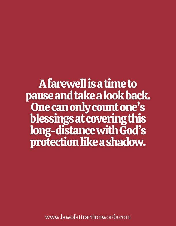 Best Spiritual Farewell Messages