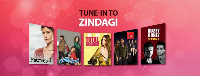 Zindagi Tv Channel Discontinue on 30 June, Move to VoD platform OZEE from 1 July 2017