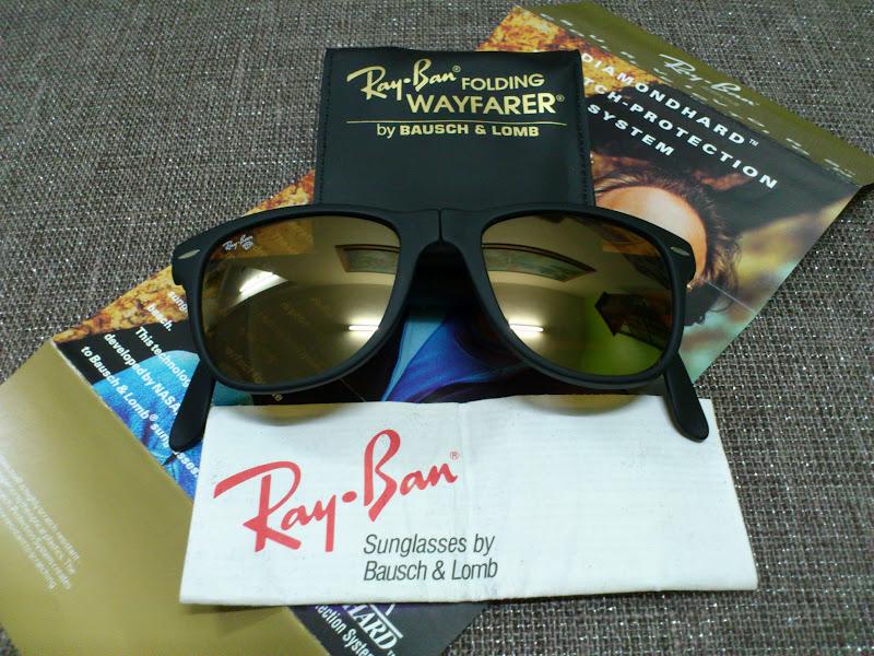 f38d99d707 ... purchase soldnos ray ban folding wayfarer ii b 15 diamond hard  lensessold b4995 6f208