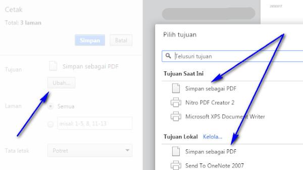 cara menyimpan laman info GTK sebagai file pdf