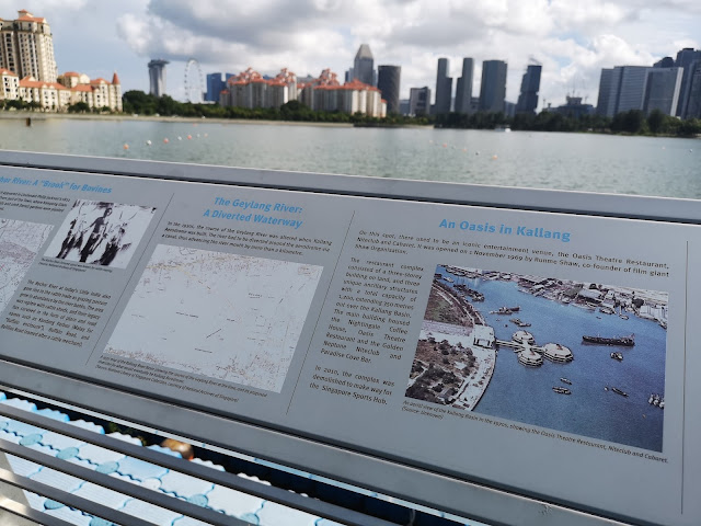Kallang Basin - Now and Then