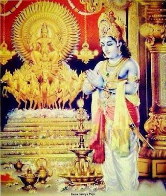 ஆதித்ய ஹ்ருதயம் Aditya Hrudayam Lyrics Tamil Language