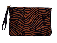 Bolso clutch animal print