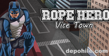 Rope Hero Vice Town v3.3.1 Mod Sınırsız Para Hileli APK 2020