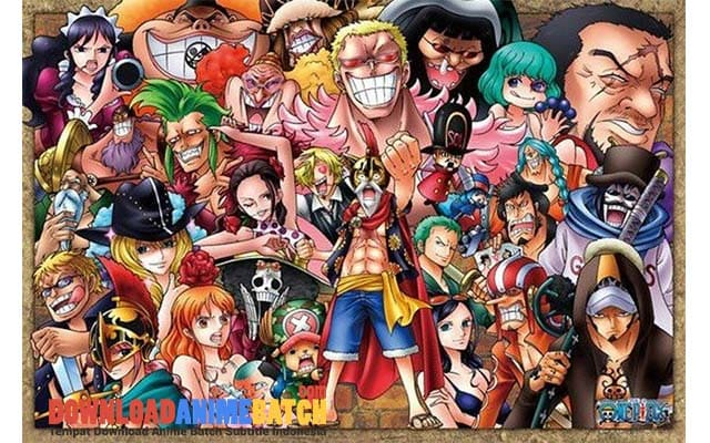 Download One Piece Arc Dressrosa Subtitle Indonesia