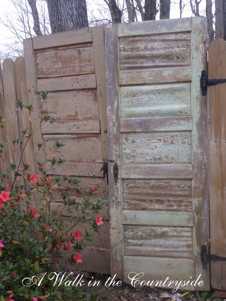 Garden Walk Buffalo Through The Garden Gates 6: A Walk In The Countryside: Vintage Doors For A Garden Gate