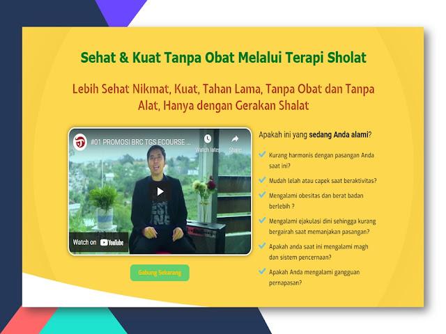 Training Terapi Gerakan Sholat solusi Ejakulasi Dini di Banten
