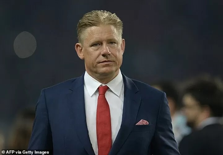 Schmeichel insists UEFA threatened Denmark with a 3-0 defeat against Finland