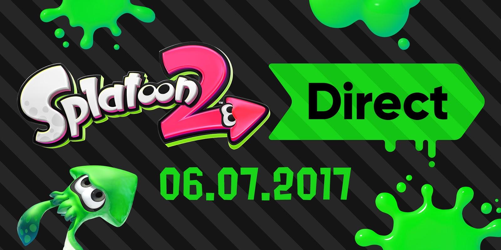 Splatoon 2 anuncia un direct para este jueves 6