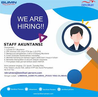 Info Lowongan Kerja Staff Akuntansi Berdikari BUMN