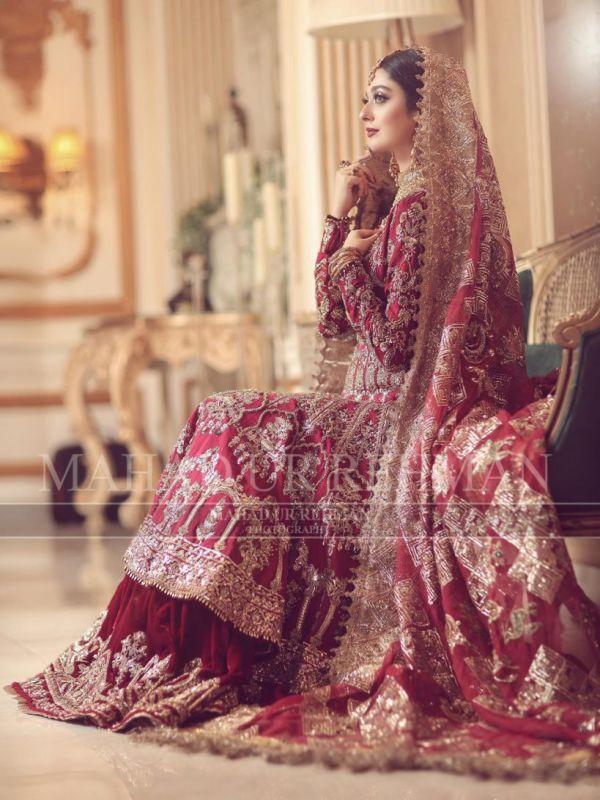 Actress Noor Zafar Khan Ethereal Bridal Shoot