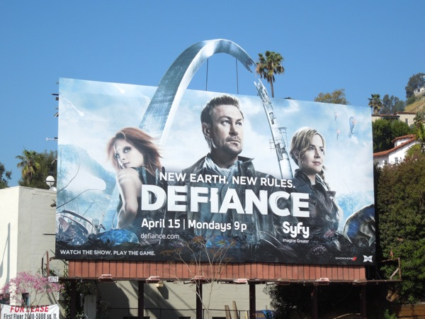 Defiance season 1 billboard