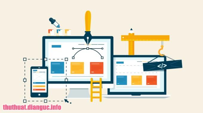 Share khóa học thiết kế WEB miễn phí
