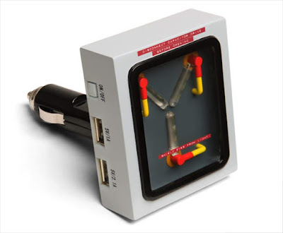 Back to The Future Flux Capacitor USB Car Recharger
